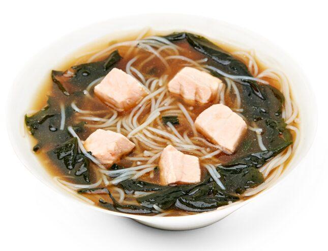 Місо-суп з лососем