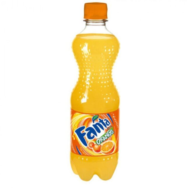 Вода Fanta Апельсин 0.5л